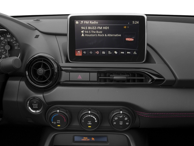 2017 Mazda MX-5 Miata Prices and Values Convertible 2D Club I4 stereo system