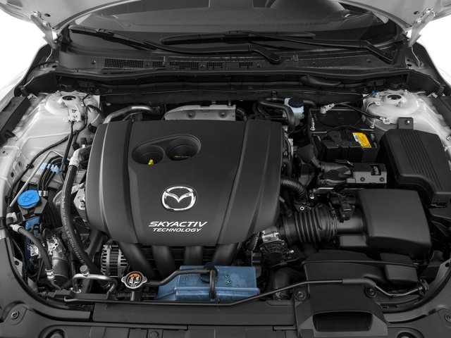 2017 Mazda Mazda6 Pictures Mazda6 Sedan 4D Sport I4 photos engine