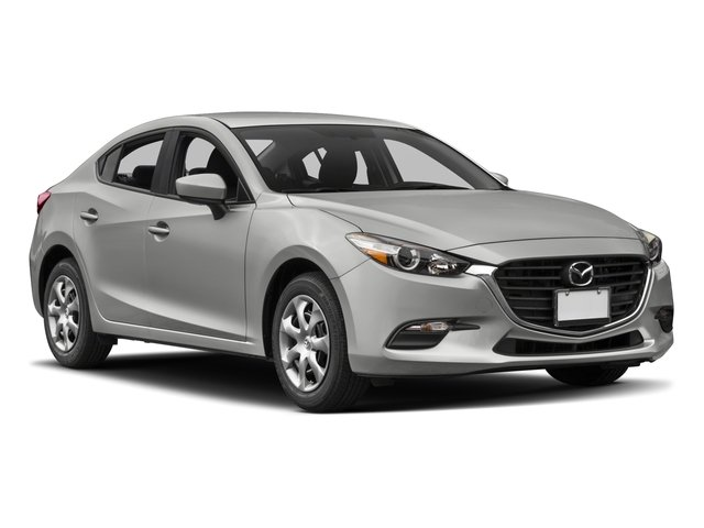 2017 Mazda Mazda3 4-Door Prices and Values Sedan 4D Sport side front view