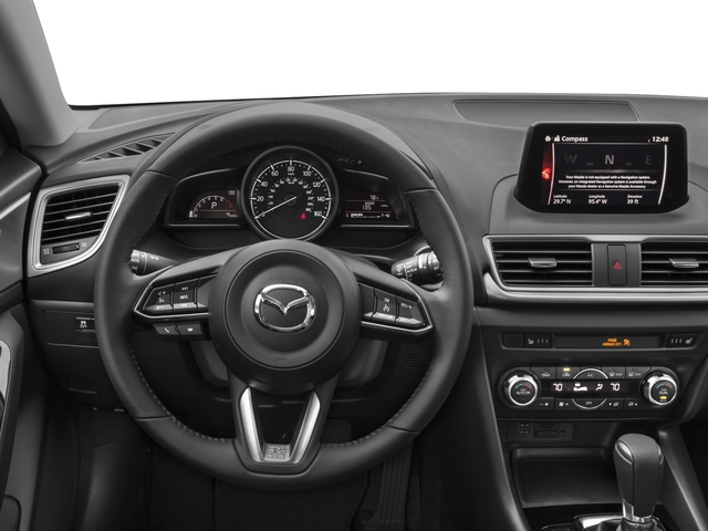 2017 Mazda Mazda3 5-Door Prices and Values Wagon 5D Touring driver's dashboard
