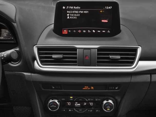 2017 Mazda Mazda3 5-Door Prices and Values Wagon 5D Touring stereo system