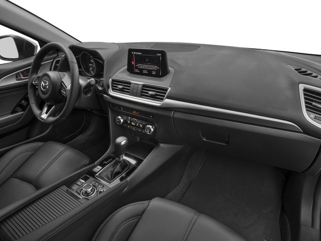 2017 Mazda Mazda3 5-Door Prices and Values Wagon 5D Touring passenger's dashboard