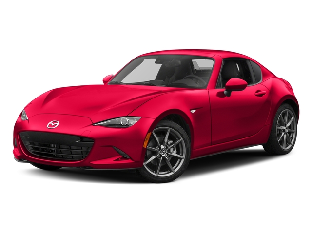 2017 Mazda MX-5 Miata RF Pictures MX-5 Miata RF Grand Touring Manual photos side front view