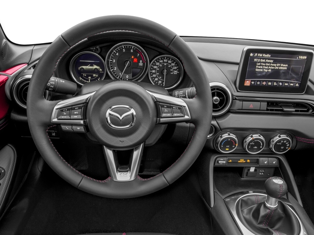 2017 Mazda MX-5 Miata RF Pictures MX-5 Miata RF Grand Touring Manual photos driver's dashboard