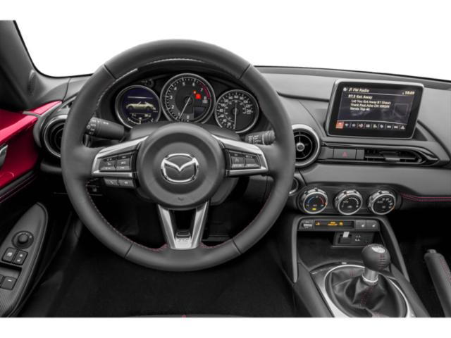 2017 Mazda MX-5 Miata RF Prices and Values Conv 2D Club Retractable Fastback I4 driver's dashboard