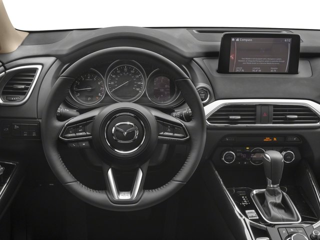 2017 Mazda CX-9 Pictures CX-9 Touring AWD photos driver's dashboard