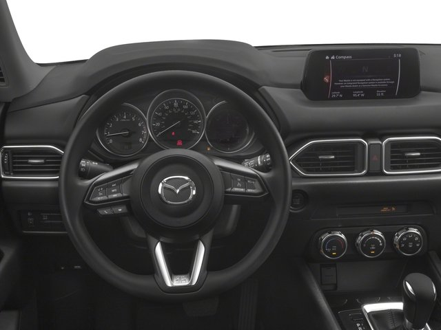 2017 Mazda CX-5 Prices and Values Utility 4D Sport 2WD I4 driver's dashboard