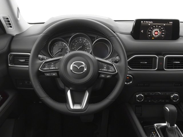 2017 Mazda CX-5 Prices and Values Utility 4D Grand Select AWD driver's dashboard