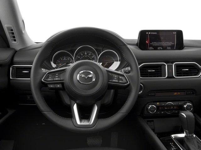 2017 Mazda CX-5 Prices and Values Utility 4D Touring AWD I4 driver's dashboard
