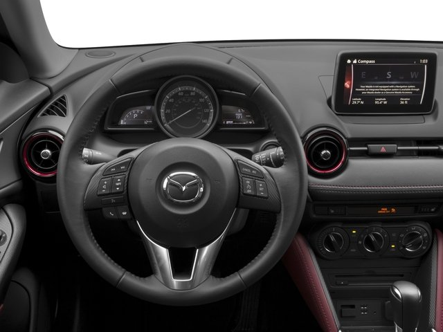 2017 Mazda CX-3 Pictures CX-3 Touring FWD photos driver's dashboard