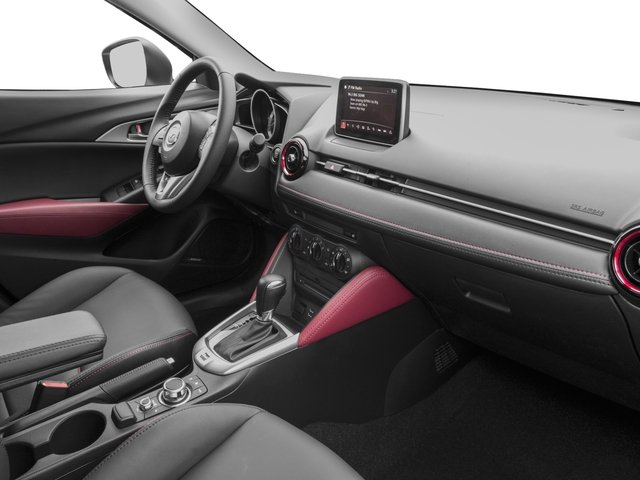 2017 Mazda CX-3 Prices and Values Utility 4D Touring AWD I4 passenger's dashboard