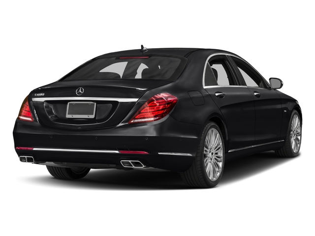 2017 Mercedes-Benz S-Class Prices and Values Sedan 4D S600 V12 Turbo side rear view