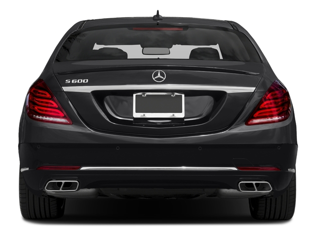 2017 Mercedes-Benz S-Class Prices and Values Sedan 4D S600 V12 Turbo rear view