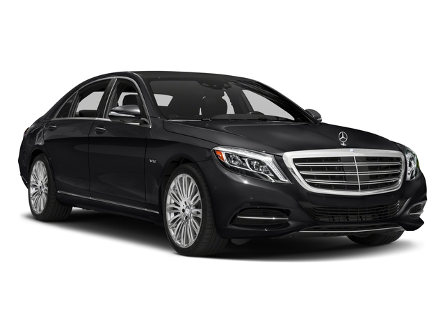 2017 Mercedes-Benz S-Class Prices and Values Sedan 4D S600 V12 Turbo side front view