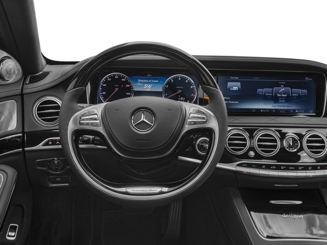 2017 Mercedes-Benz S-Class Prices and Values Sedan 4D S600 V12 Turbo driver's dashboard