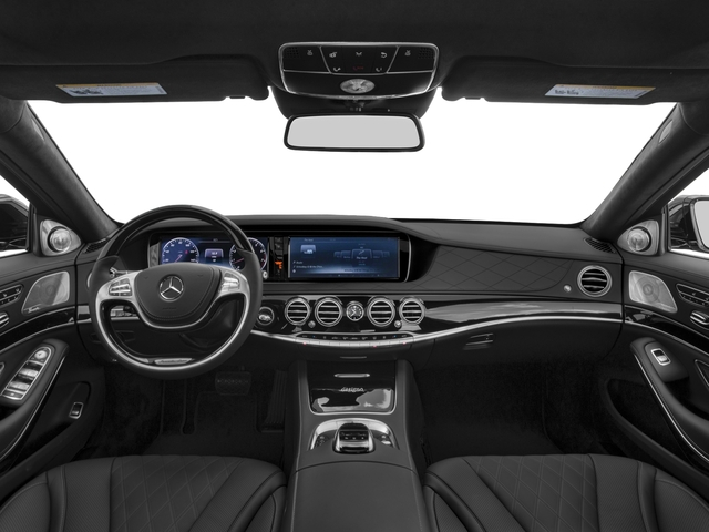 2017 Mercedes-Benz S-Class Prices and Values Sedan 4D S600 V12 Turbo full dashboard