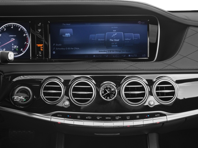 2017 Mercedes-Benz S-Class Prices and Values Sedan 4D S600 V12 Turbo stereo system