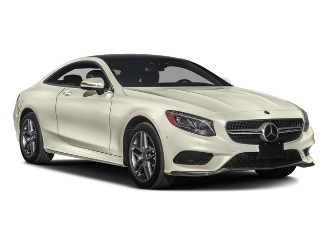 2017 Mercedes-Benz S-Class Pictures S-Class Coupe 2D S550 AWD V8 Turbo photos side front view