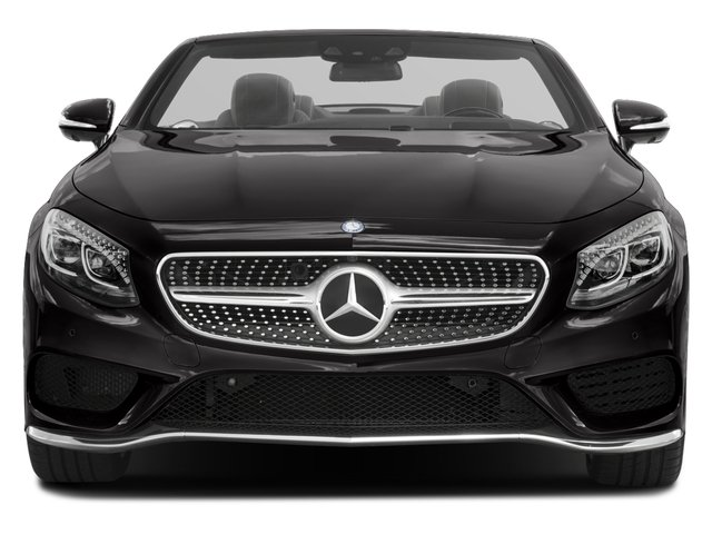 2017 Mercedes-Benz S-Class Prices and Values Convertible 2D S550 V8 Turbo front view