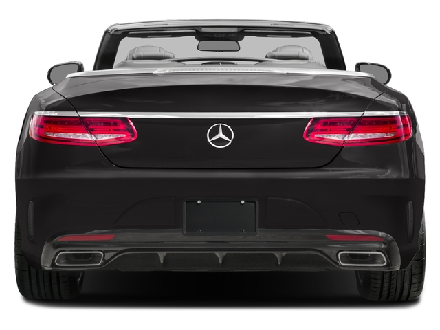 2017 Mercedes-Benz S-Class Prices and Values Convertible 2D S550 V8 Turbo rear view