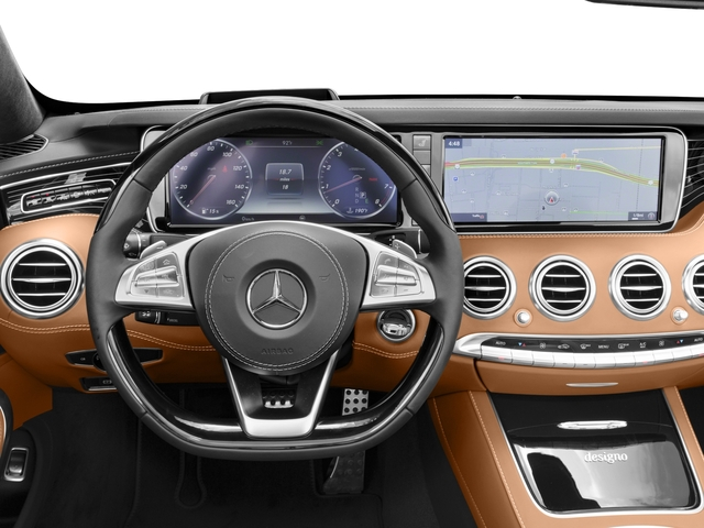 2017 Mercedes-Benz S-Class Prices and Values Convertible 2D S550 V8 Turbo driver's dashboard