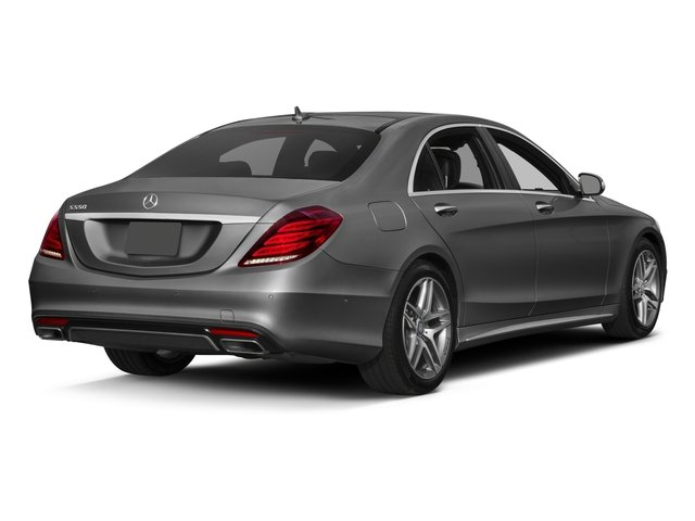 2017 Mercedes-Benz S-Class Pictures S-Class S 550 Sedan photos side rear view