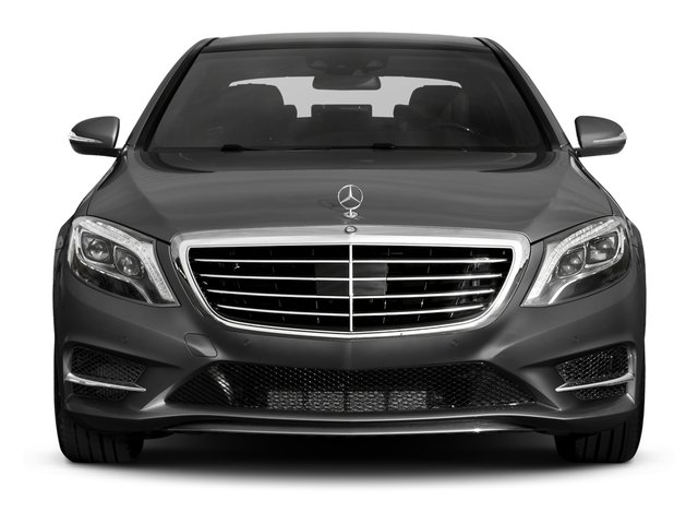 2017 Mercedes-Benz S-Class Pictures S-Class Sedan 4D S550 V8 Turbo photos front view