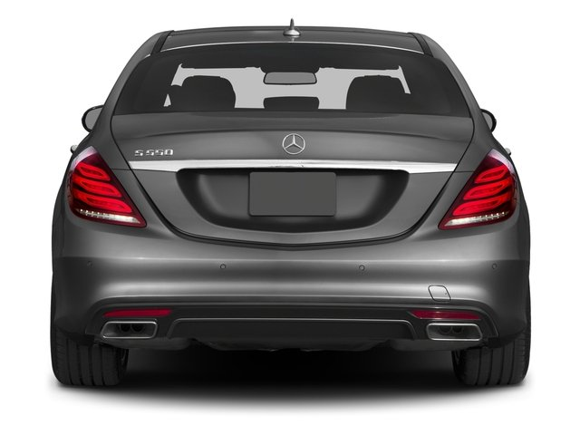 2017 Mercedes-Benz S-Class Prices and Values Sedan 4D S550 V8 Turbo rear view
