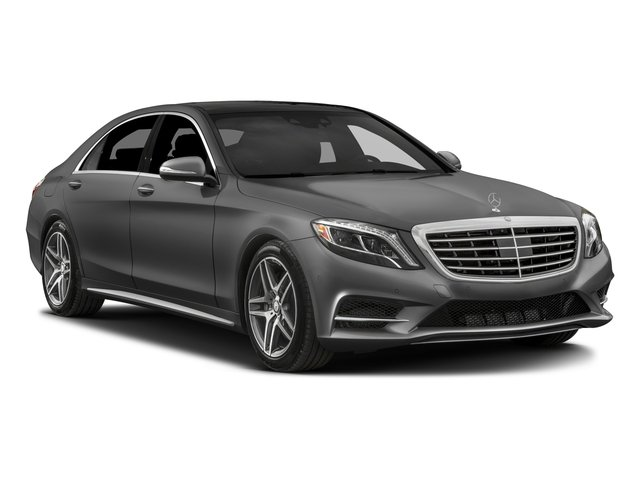 2017 Mercedes-Benz S-Class Prices and Values Sedan 4D S550 V8 Turbo side front view