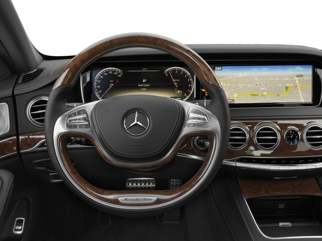 2017 Mercedes-Benz S-Class Base Price S 550 Sedan Pricing driver's dashboard
