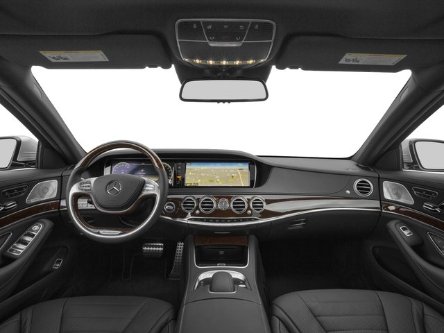 2017 Mercedes-Benz S-Class Prices and Values Sedan 4D S550 V8 Turbo full dashboard