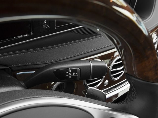 2017 Mercedes-Benz S-Class Prices and Values Sedan 4D S550 V8 Turbo center console