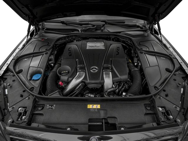 2017 Mercedes-Benz S-Class Pictures S-Class Sedan 4D S550 V8 Turbo photos engine