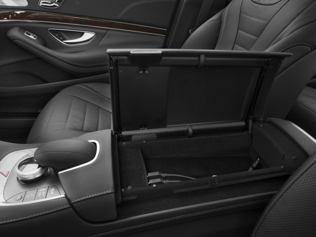 2017 Mercedes-Benz S-Class Prices and Values Sedan 4D S550 V8 Turbo center storage console