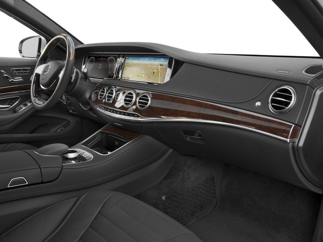 2017 Mercedes-Benz S-Class Prices and Values Sedan 4D S550 V8 Turbo passenger's dashboard