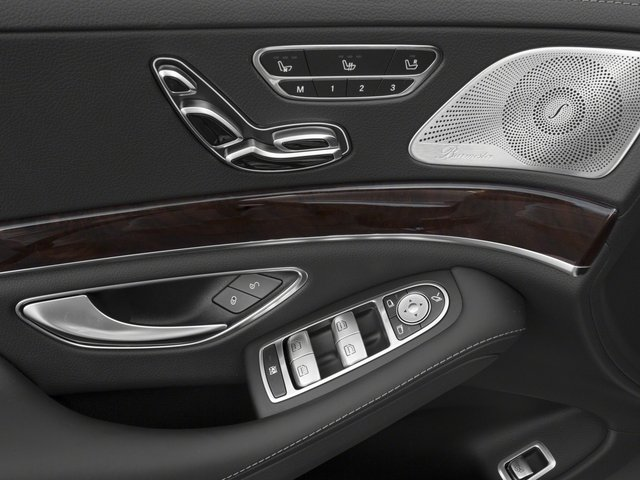 2017 Mercedes-Benz S-Class Prices and Values Sedan 4D S550 V8 Turbo driver's side interior controls