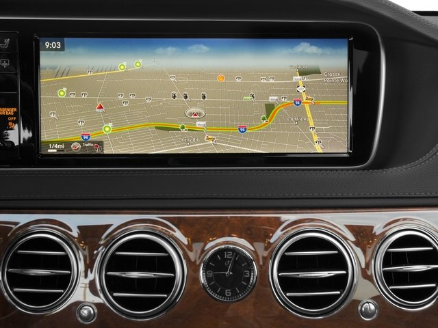 2017 Mercedes-Benz S-Class Prices and Values Sedan 4D S550 V8 Turbo navigation system