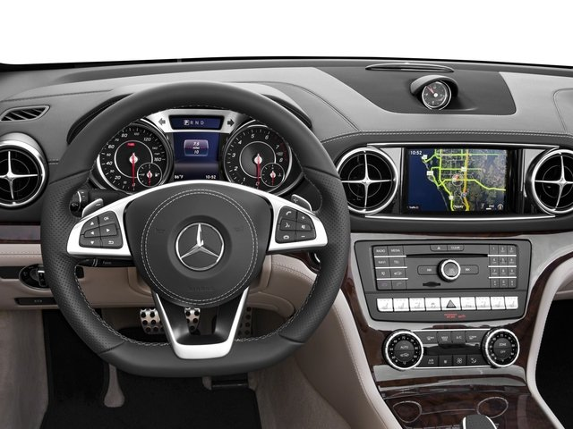 2017 Mercedes-Benz SL Prices and Values Roadster 2D SL550 V8 Turbo driver's dashboard
