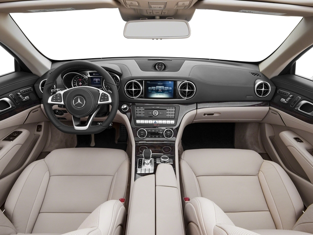 2017 Mercedes-Benz SL Prices and Values Roadster 2D SL550 V8 Turbo full dashboard