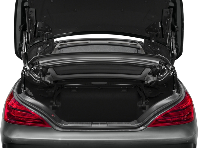 2017 Mercedes-Benz SL Prices and Values Roadster 2D SL550 V8 Turbo open trunk
