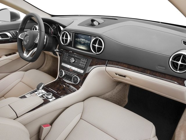 2017 Mercedes-Benz SL Prices and Values Roadster 2D SL550 V8 Turbo passenger's dashboard