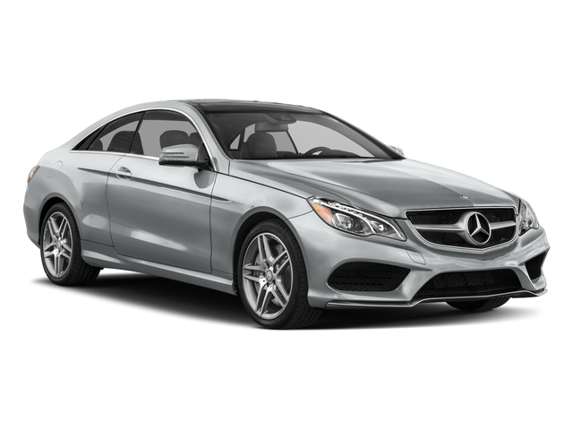 2017 Mercedes-Benz E-Class Prices and Values Coupe 2D E550 V8 Turbo side front view