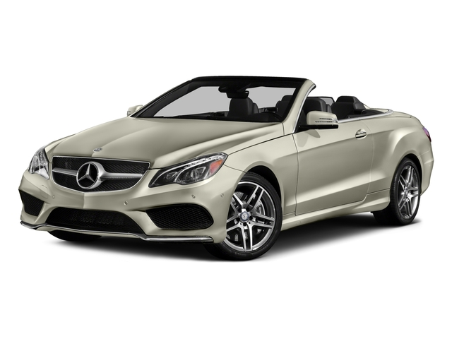 2017 Mercedes-Benz E-Class Base Price E 550 RWD Cabriolet Pricing side front view