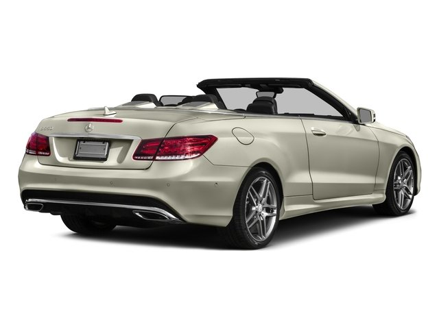 2017 Mercedes-Benz E-Class Prices and Values Convertible 2D E550 V8 Turbo side rear view