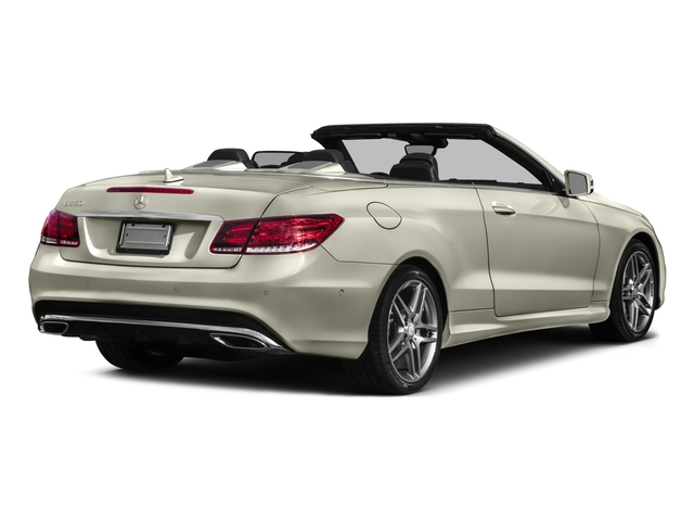 2017 Mercedes-Benz E-Class Base Price E 550 RWD Cabriolet Pricing side rear view