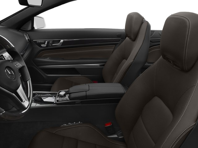 2017 Mercedes-Benz E-Class Prices and Values Convertible 2D E550 V8 Turbo front seat interior