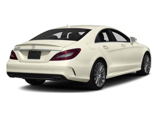 2017 Mercedes-Benz CLS Prices and Values Sedan 4D CLS550 AWD V8 Turbo side rear view