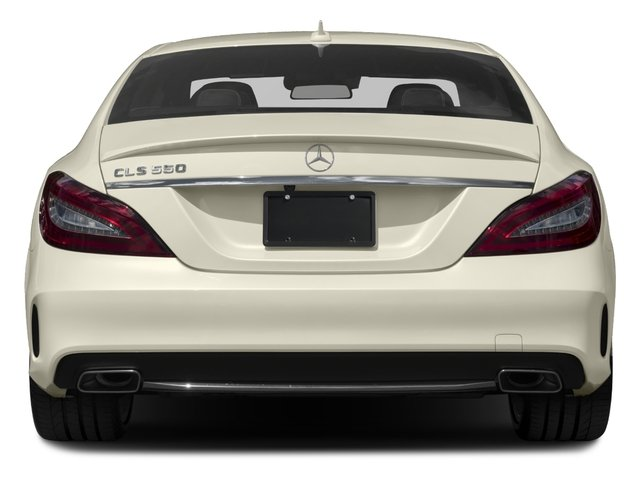 2017 Mercedes-Benz CLS Prices and Values Sedan 4D CLS550 AWD V8 Turbo rear view