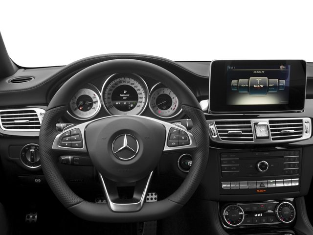 2017 Mercedes-Benz CLS Prices and Values Sedan 4D CLS550 AWD V8 Turbo driver's dashboard