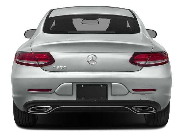 2017 Mercedes-Benz C-Class Pictures C-Class C 300 Coupe photos rear view